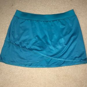 TAIL turquoise blue tennis skirt - Large